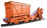 Редови бункер ZV-01 / транспортен конвейер PD-01