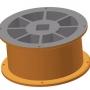 Ротор MAXI - 7,9 l - трапецовидни отвори