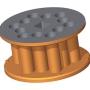 Ротор - 3,9 l - цилиндрични отвори
