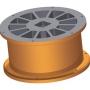 Ротор - 6,9 l - трапецовидни отвори